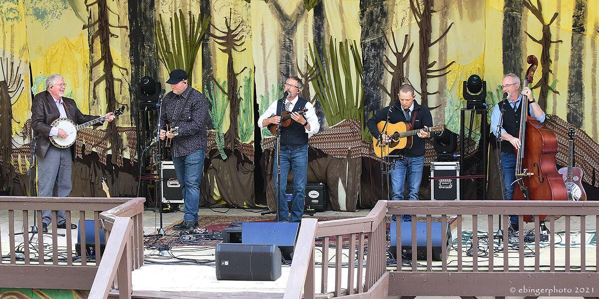 Balsam Range on stage at HRA 4-21 W. Ebinger