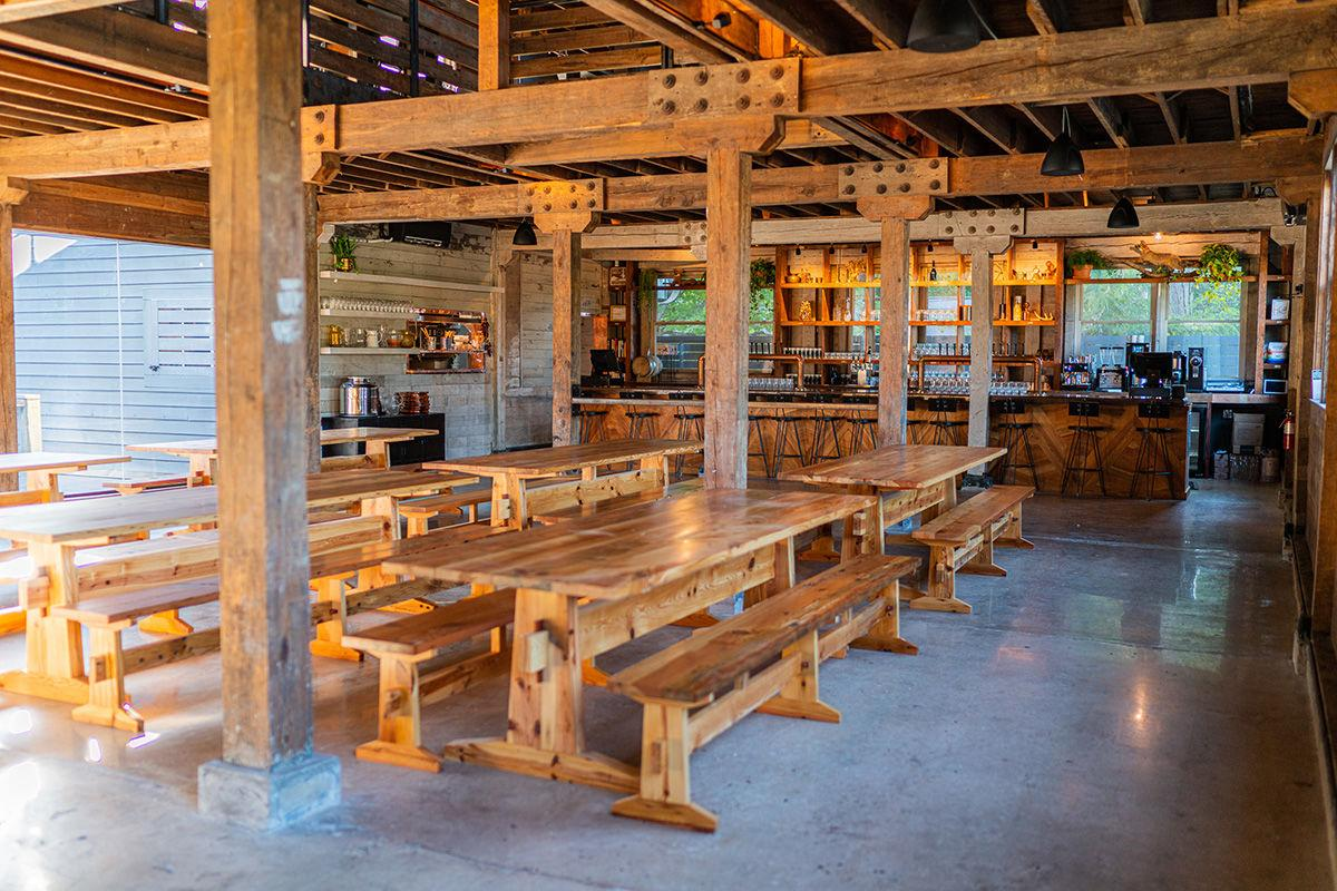 Burial Beer's Forestry Camp interior