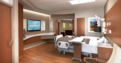 North Tower Patient Room