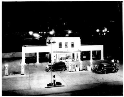 Shell Station later Wick & Greene