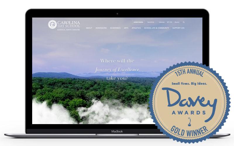 CDS website wins Davey award.jpg