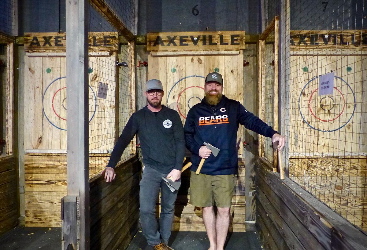 Axeville co-owners Ryan McClenny and Glen Merchant
