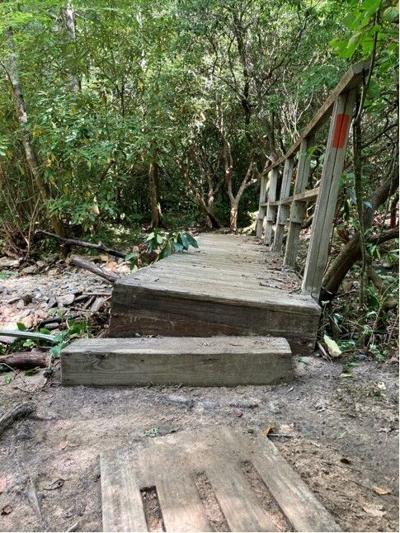 FIND Outdoors trail damage