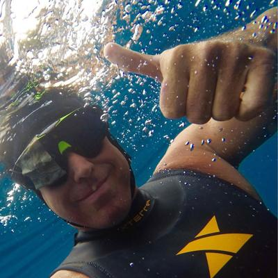 Beacon Flashback: Lechner Swims Solo Across 90 Miles of Lake Michigan