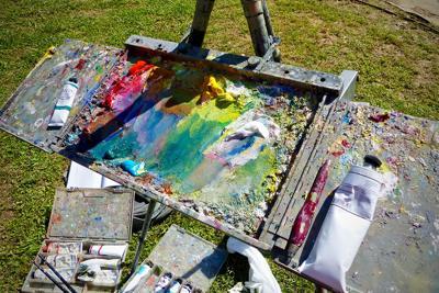 Richard Oversmith's palette