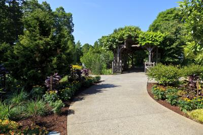 North Carolina Arboretum Garden Entrance