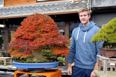 Bjorn Bjorholm with Shishigashira Maple