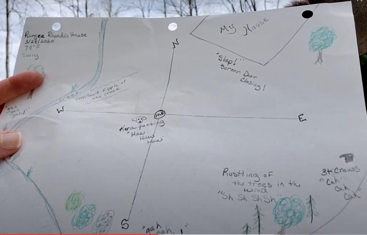 sound map backyard nature