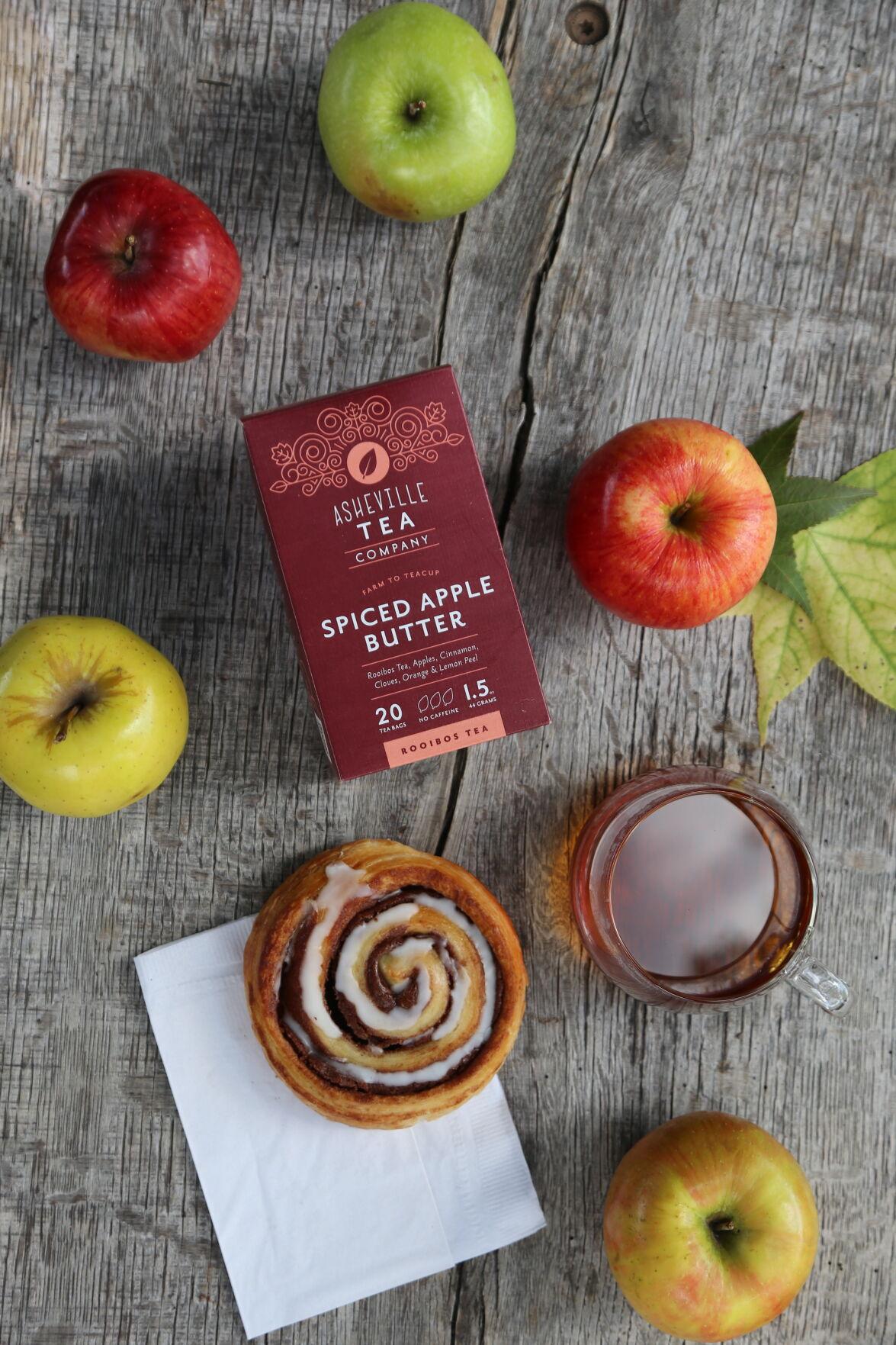 Spiced Apple Butter Tea