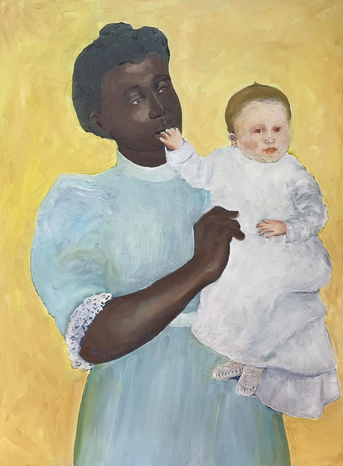 2.Connie Bostic, Untitled, 2021, Oil on canvas 24x 18.jpeg