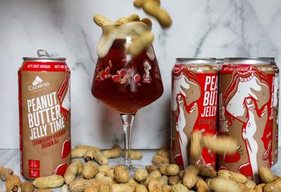 Catawba Brewing's Peanut Butter Jelly Time 2021