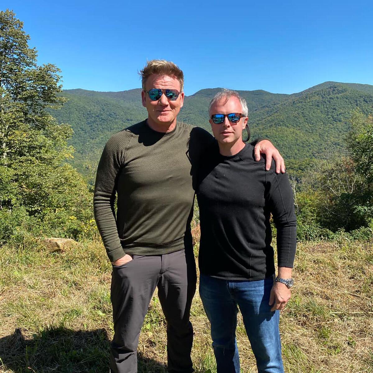 Gordon Ramsay & William Dissen - Balsam Mtn Preserve