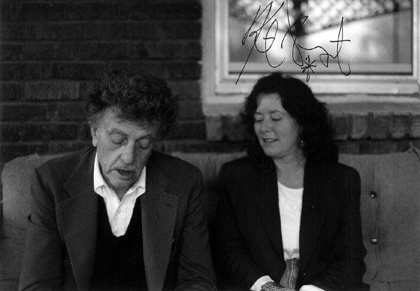 Kurt Vonnegut and Karen Ackerson