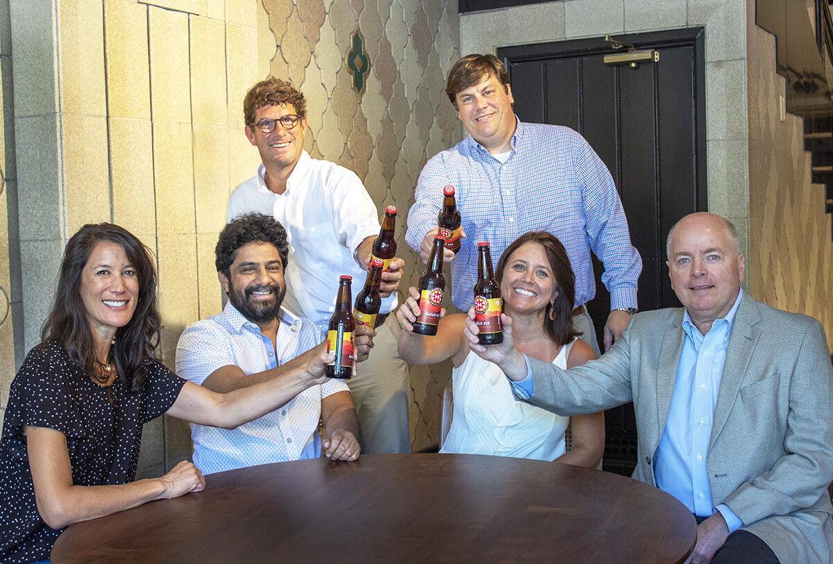 S&W Market partners Leah Ashburn, Meherwan Irani, Burns Aldridge, Ryan Israel, Anne Aldridge and Douglas Ellington