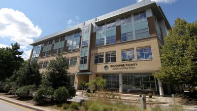 Buncombe administration building