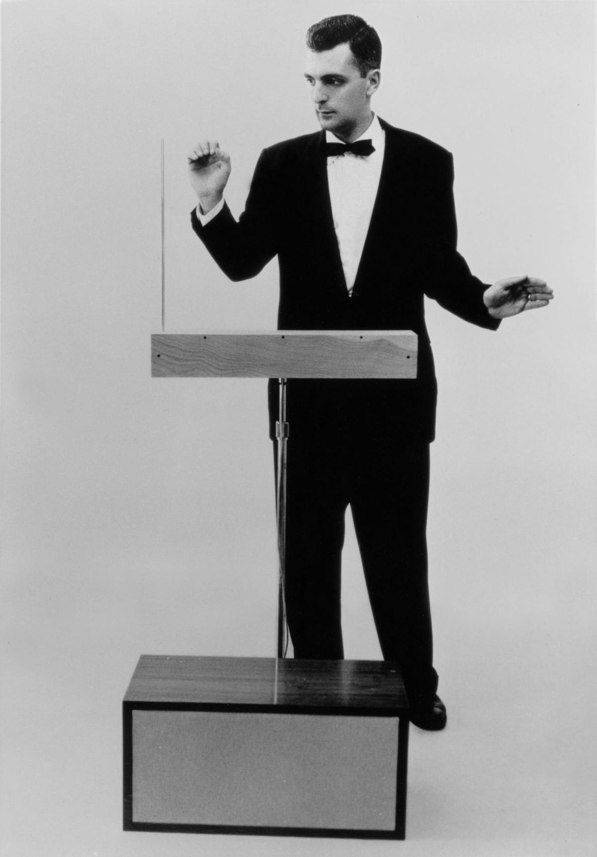 Bob Moog Playing Melodia Theremin_1961.jpg