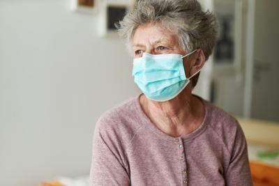 A senior citizen