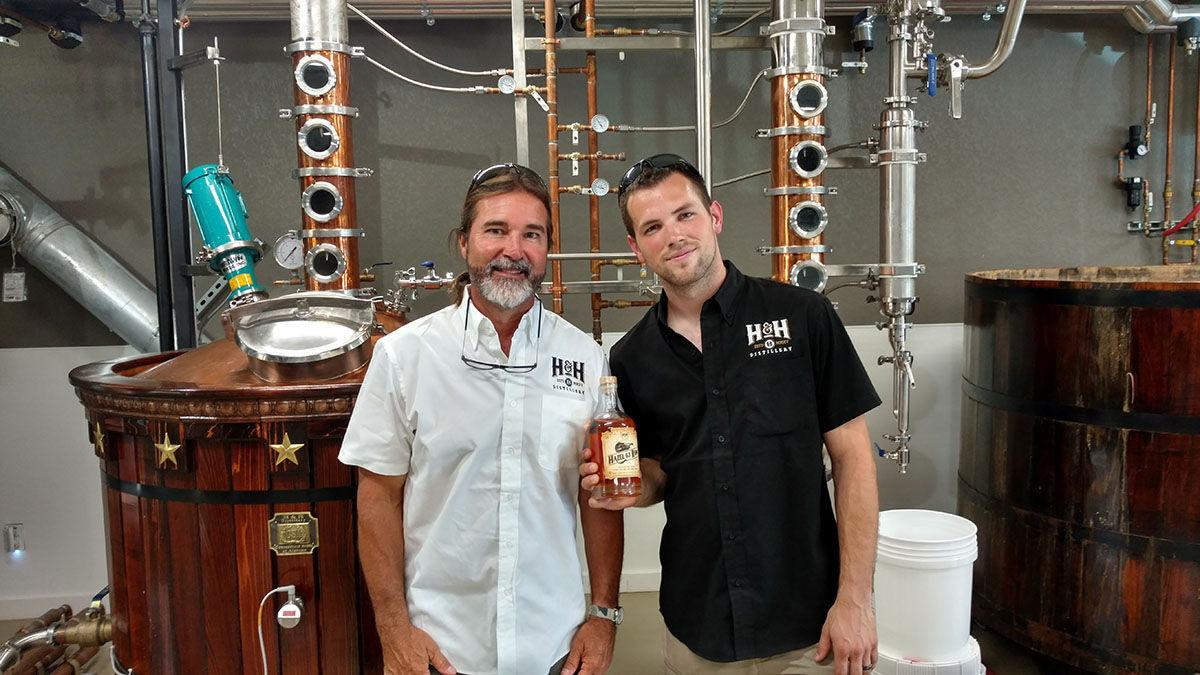 Cultivated Cocktails owners Wendell and Taylor Howard