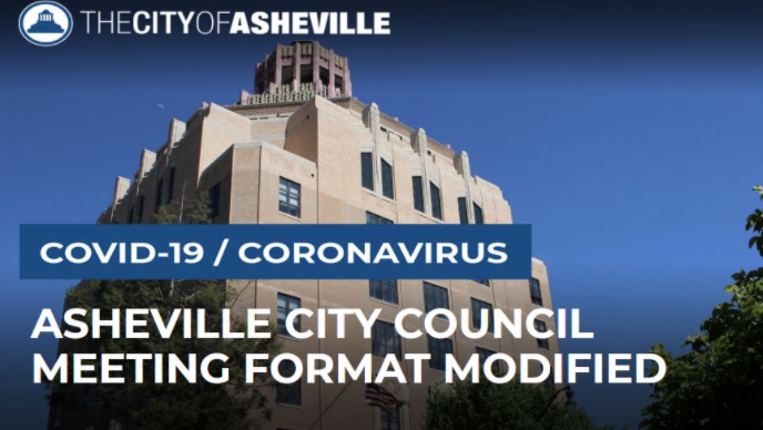Virtual city council meetings