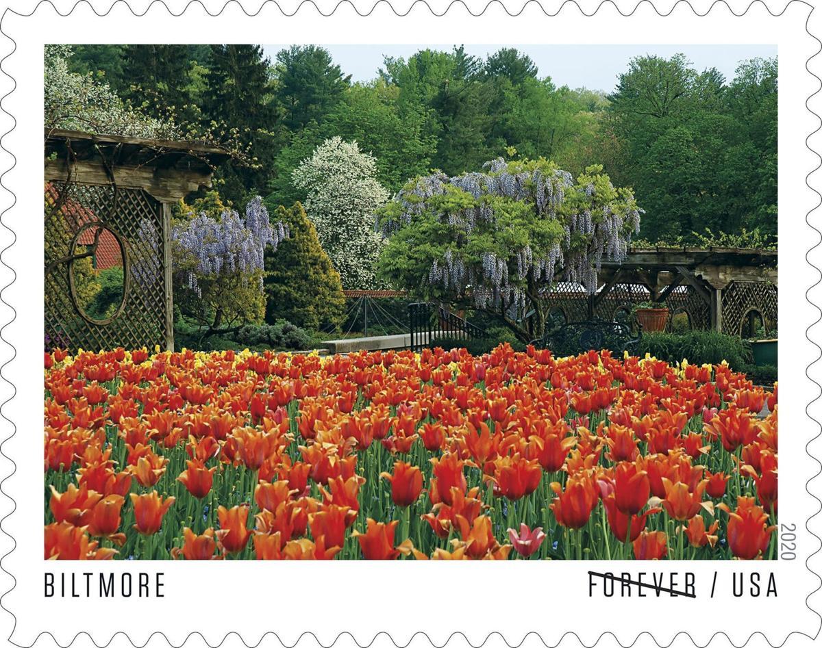 Walled garden stamp