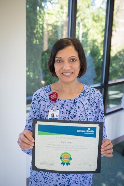 Purvi Patel, Sunshine Award winner