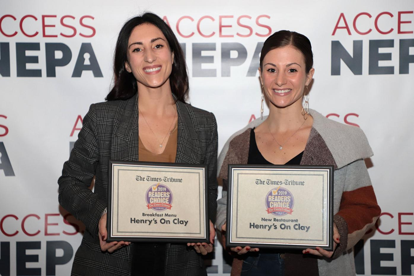 Sisters, Ellen, left, and Lizzie Sallusti, of Henry's on Clay, a