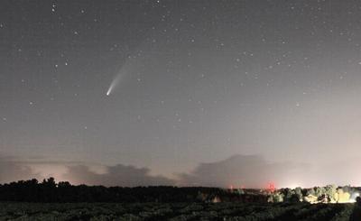 It's a bird, a plane, a comet