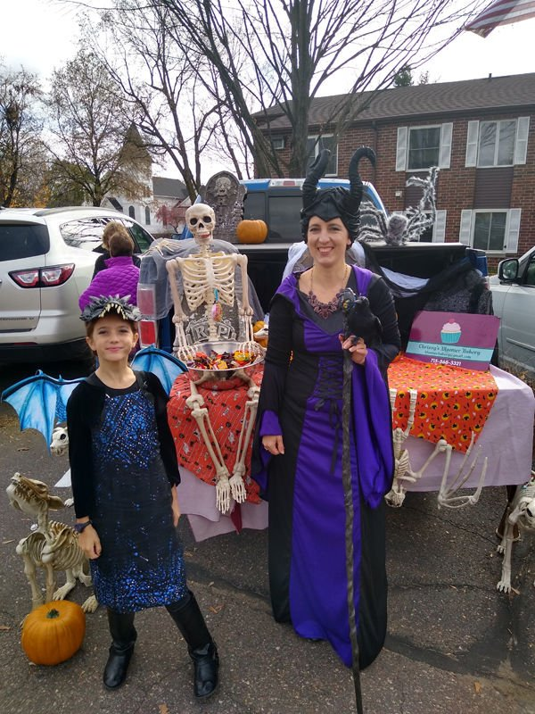 St. John's Lutheran Church Holds Trunk or Treat