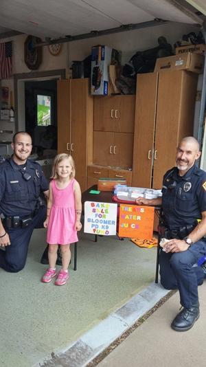 Bloomer Police K9 Program Accepts Donation