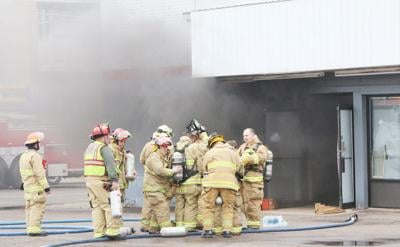Quick work on suspected arson fire