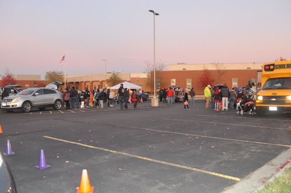 Bloomer P.I.E. Holds Trunk or Treat