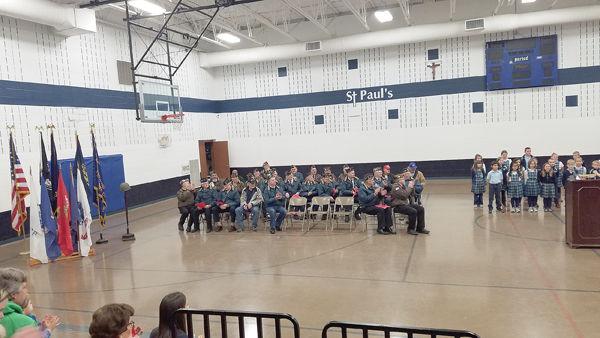 Bloomer Schools Hold Veterans Day Ceremonies
