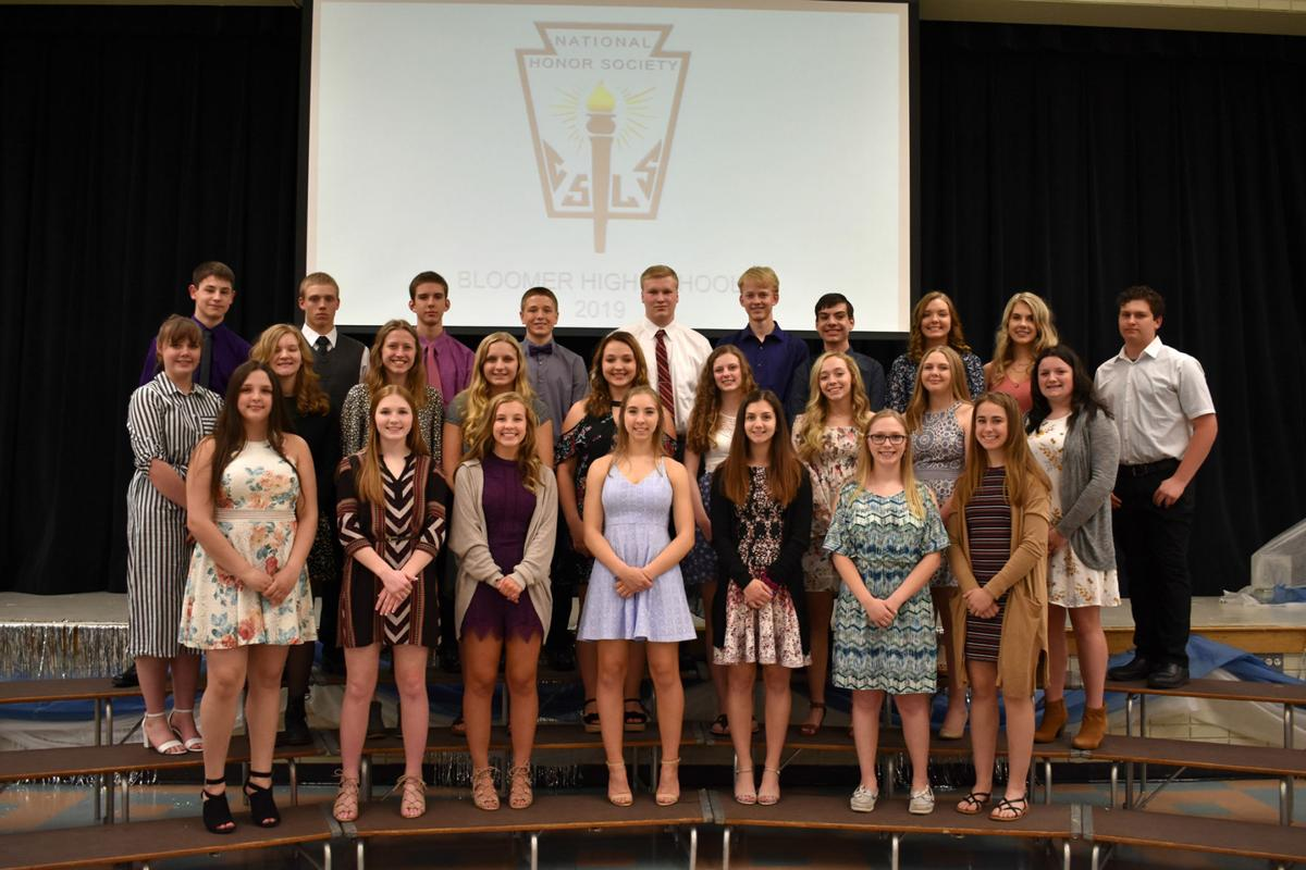 BHS Chapter of National Honor Society 2019 Inductees