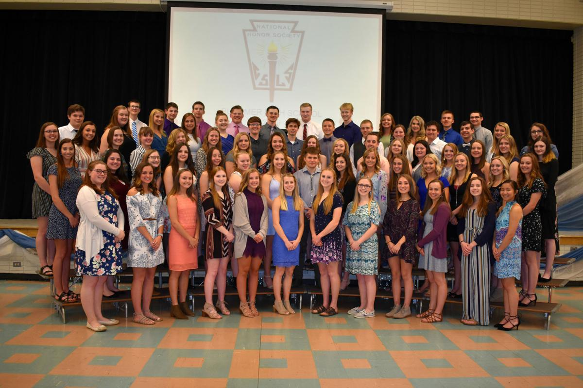 Bloomer High School Chapter of National Honor Society