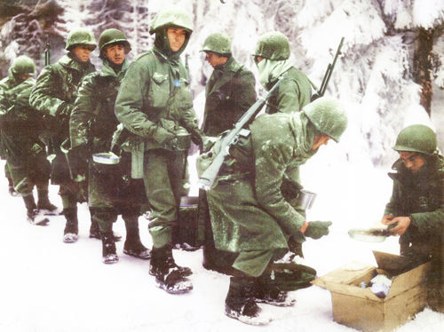 Clear Lake man fought in the Bulge