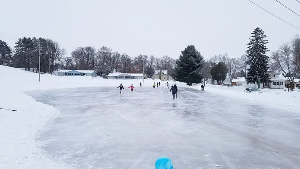 Bloomer Skating Rink And Warming House Now Open