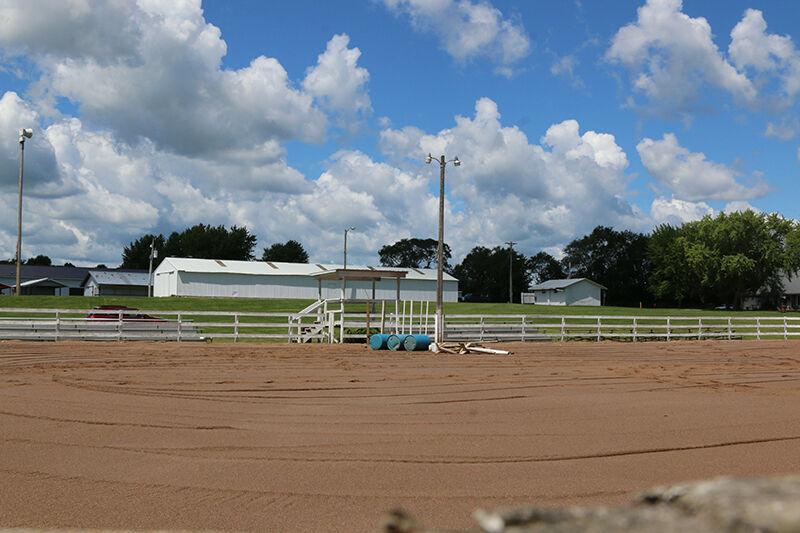 Horse Arena Work