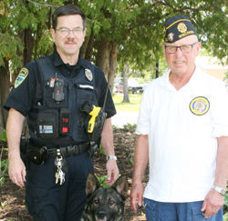Former mayor to hit first drive at K9 Memorial Golf Tourney
