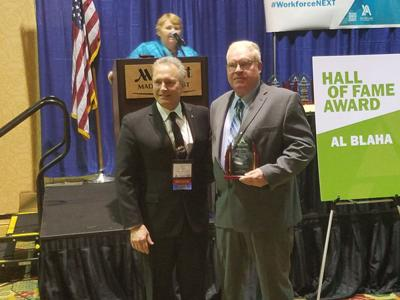 Blaha Inducted Into Wisconsin Apprenticeship Hall of Fame