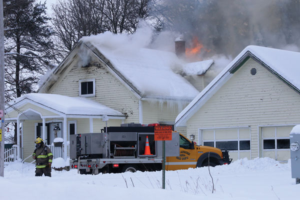 Bloomer, New Auburn Fire Departments Fight Structure Fires Saturday, Monday