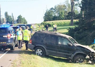 Wickware accident scene