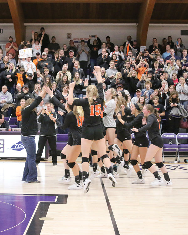 Blackhawks Volleyball Team Headed To State