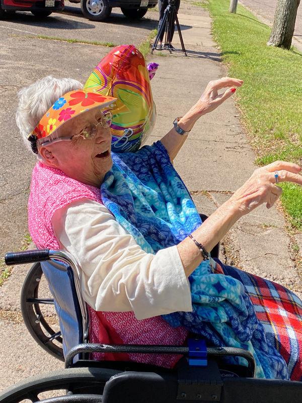Frances Donahue's 100th Birthday