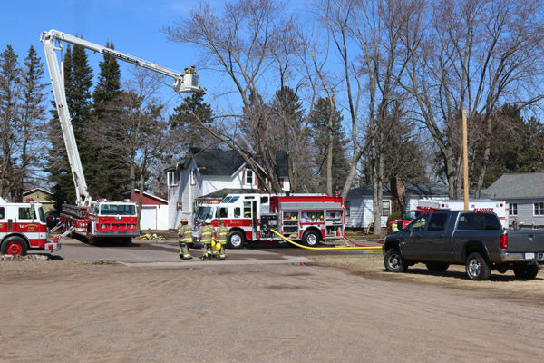 Fire Destroys House in City of Bloomer