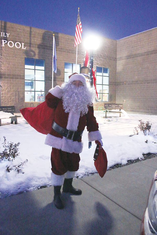 Santa Comes To Town To Hear Children's Christmas Wish Lists