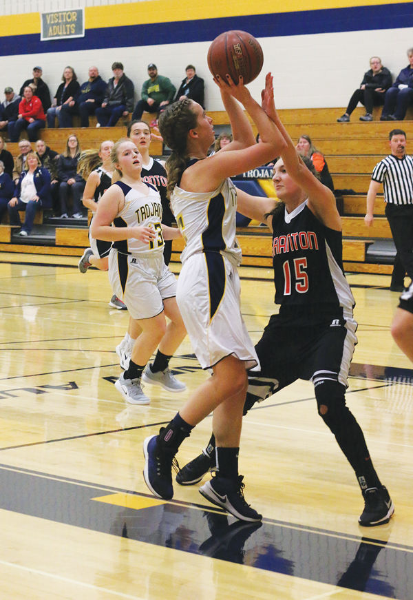 Trojan Girls BB Opens Season Against Granton