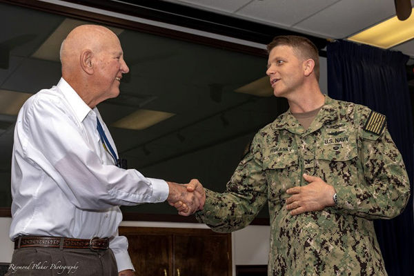 Oceanographer Lowell Webb Retires After 60 Years Of Service To U.S. Navy