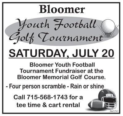 Bloomer Youth Football Golf Tournament