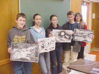 PC students ace aviation art contest