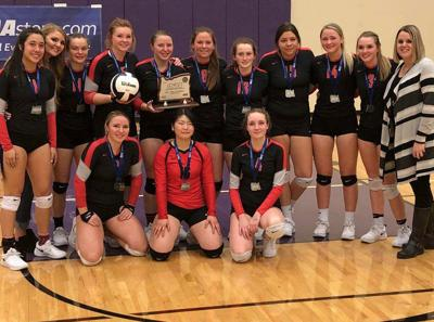Grant Union finishes volleyball season second in state